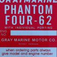 Reproduction Gray Marine Phantom Four-62 tag
