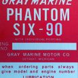 Reproduction Gray Marine Phantom Six-90 tag