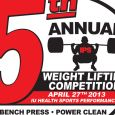 2013 IPS Weight Lifting Competition Logo